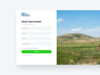 Login / Sign Up Page Design