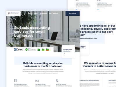 Accounting/Finance Web Design