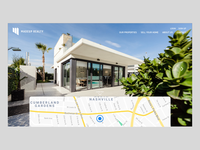 Real Estate Listing Web Design Concept