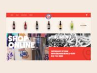 Soda Company Web Design