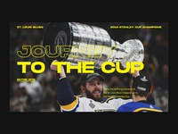 Blues Hockey Web Design