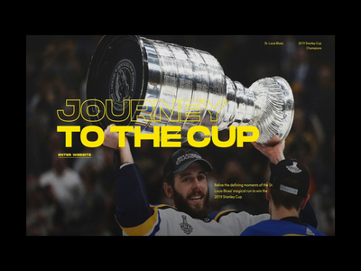 Blues Stanley Cup Website (live)