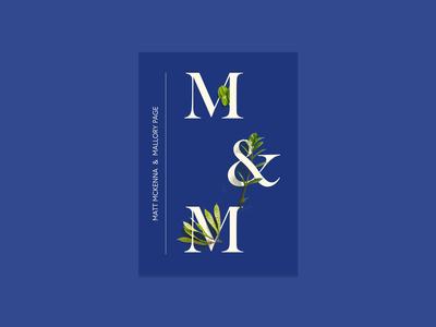 blue wedding invitation designs