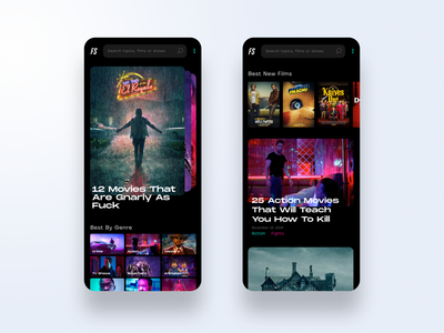 Movie App UX