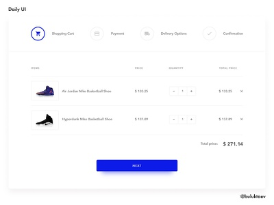 Daily UI #002 Checkout checkout web interface form element day002 dailyui daily100