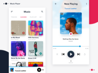 Music Player Design Concept