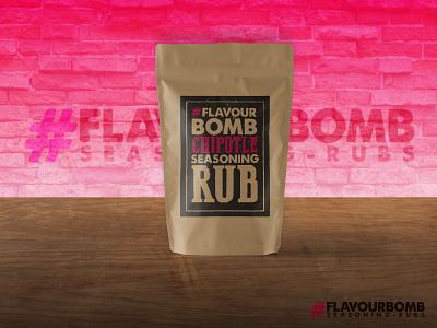 #FLAVOURBOMB packaging design food packaging food stamp packaging pack branding logo design