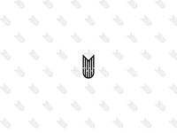 MU letter logo desing