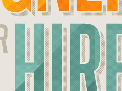 Hire typography
