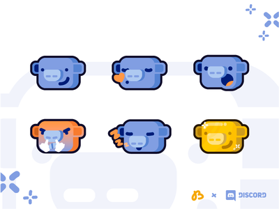 Discord Emote Reactions - Wumpus