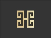 Luxurious Letter H Initial Logo Concept