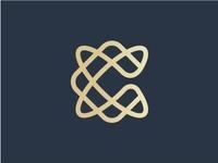 Luxurious Monoline Letter C Initial Logo Design
