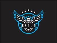 Eagle Mascot Logo Icon Vector