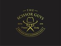 The Scissor Guys Logo Concept