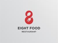 Eight Food Logo Concept