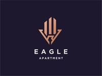 Eagle Apartment Logo Concept