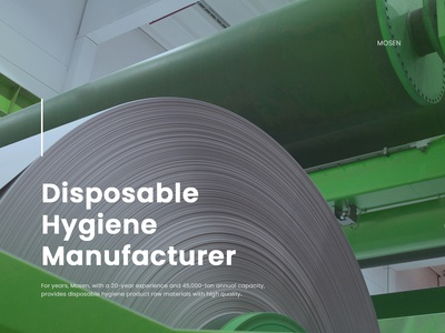 dribbble   Disposable Hygiene Product Raw Material Manufacturer