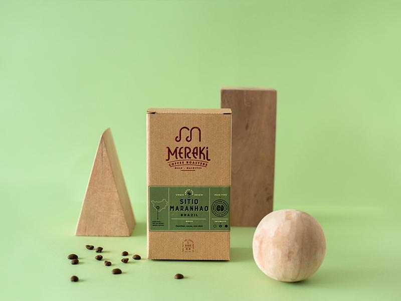 Coffee Packaging packaging packagedesign coffee vintage badge illustration typography