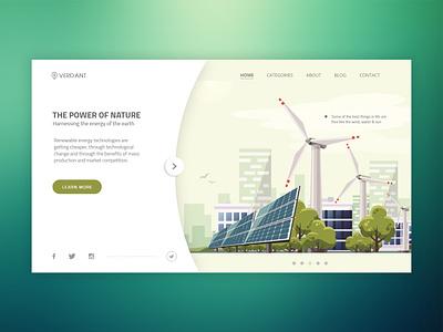 Verdant graphic  design interaction design web development website webpage web design ux ui