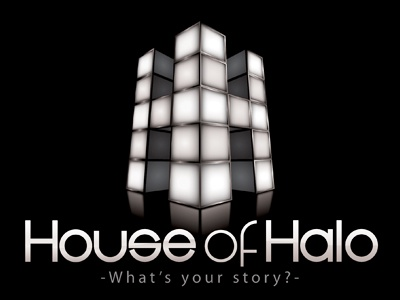House Of Halo Logo Design house of halo logo design music sound film advertising television visual recordings