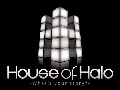 House Of Halo Logo Design house of halo logo design music sound film advertising television visual recordings