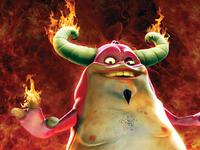 Devil Character Poster Design