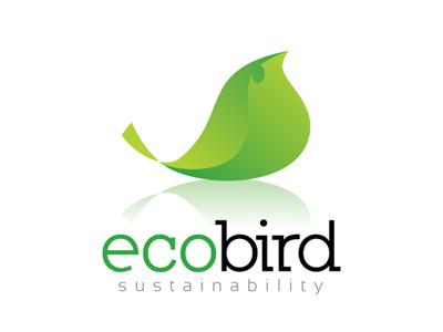 Eco Bird (Leaf) Logo eco bird leaf logo template people planet profit development nature green sustainability solution business company duurzaamheid balans maatschappelijk verantwoord ondernemen evenwicht ijkpunt milieu winst inkomsten