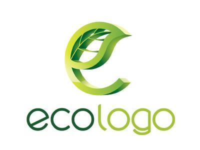 'Eco' Logo Design logo design template green nature development sustainability duurzaamheid people planet profit leaf 3d e