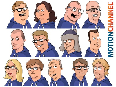 Family Guy Custom Avatar Creation family guy avatar commission artwork illustration sketchbook pro photoshop team company
