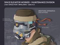 Space Elevator Worker