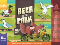 Beer in the Park: Pale Ale Label Packaging