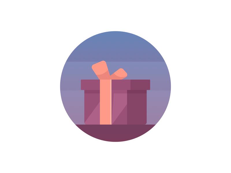 Onboarding illustration #3 gift reward onboarding illustration app