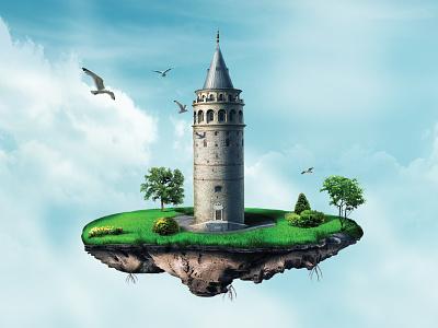 Galata Tower istanbul sea tower galata
