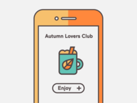 Autumn Vibes Icon Set