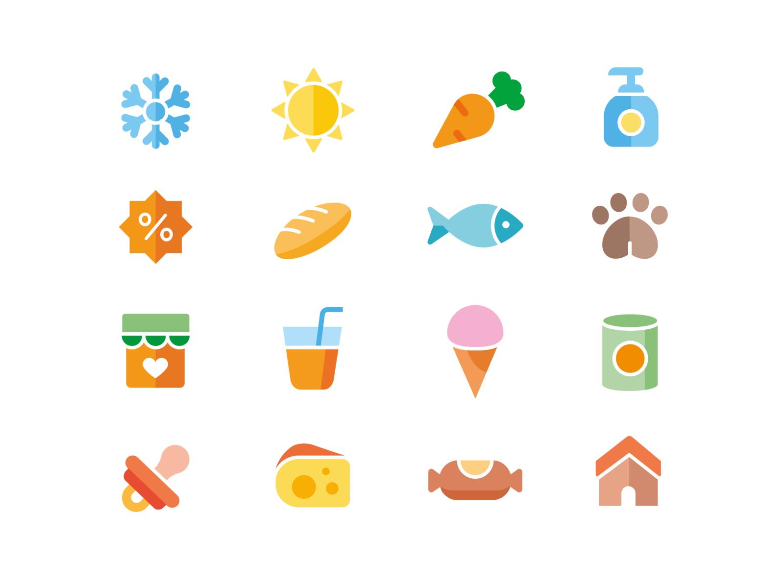 Dribbble shots icons
