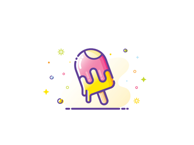 Ice cream Illustration 🍨🍧🍦⛱️☀️😋 icon vectorillustration graphicdesign vectorart illustrator coffee vector illustration