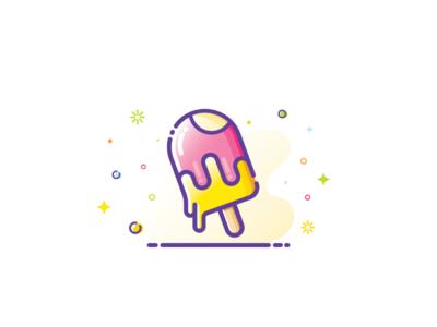 Ice cream Illustration 🍨🍧🍦⛱️☀️😋