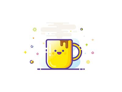 Coffee!!! ☕ 😀 vector mbestyle coffee illustrator illustration icons graphicdesign graphic design artwwork art adobe illustrator