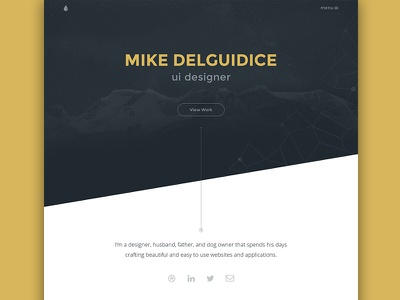 Portfolio - 2015 personal design web site web site portfolio ui work