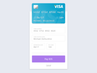 Daily UI - Day 2: Credit Card Checkout