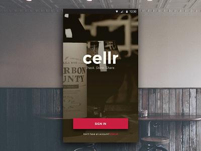 Cellr design ui craft cellr app android beer