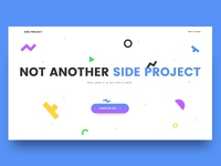 Not Another Side Project…