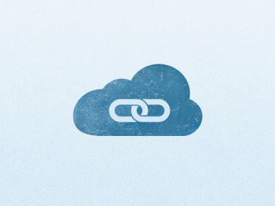 Cloud Link Simple logo texture design icon app