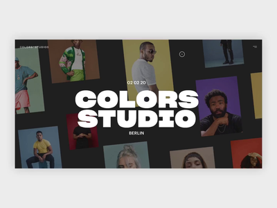 Colors Studio Exploration concept music karaoke ui figma principle colors animation