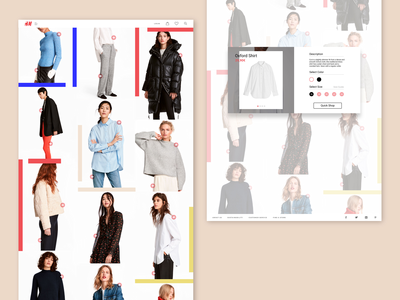 H&M / This Christmas, Go Conscious Website / Product Page