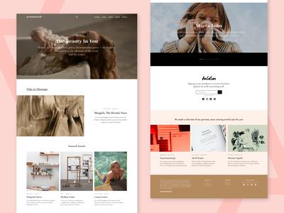 Almanaquezine | Website_Homepage