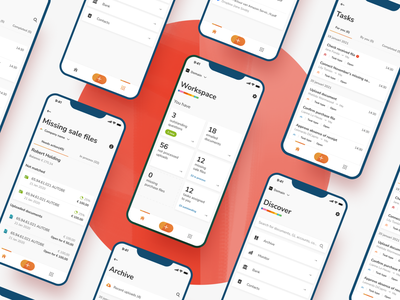 Yuki Assistant finance accountancy component library app mobile platform ui ux