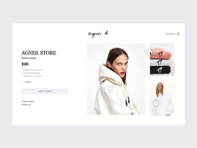 Clothing Store Web UI web brand store animation app landing website ecommerce mockup web design ux ui fashion style women fashion shopping online shopping cloth wear