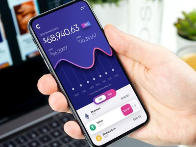 💸 Crypto App Exploration altcoin cryptocurrency crypto wallet crypto bitcoin ethereum binance btc coin sell app design app lines wallet ui wallet ui mining application ux