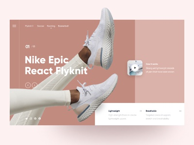 Shotime cart sneaker fashion ecommerce nike banner shoe